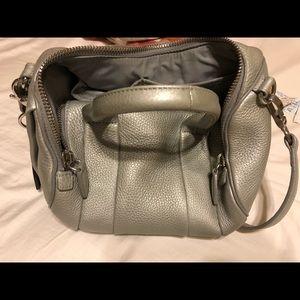 alexander wang rockie handbag platinum